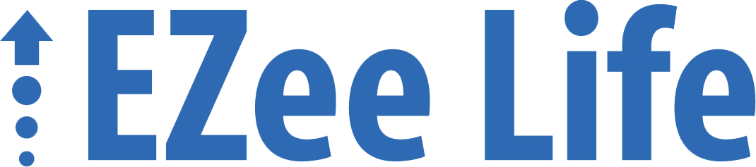 Logo for the medical equipment brand EZee Life.