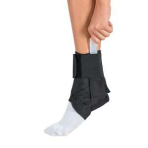 An ankle brace available from Activa Clinics.