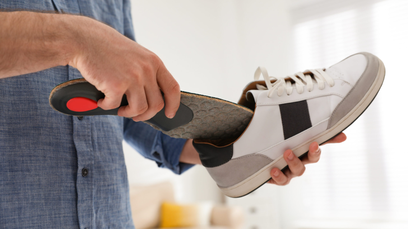 how to clean custom orthotics